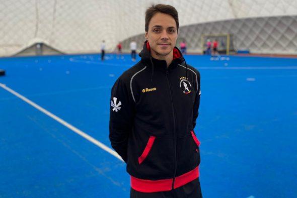 Janosch Emonts aus Hergenrath ist nun Athletiktrainer des Deutschen Hockey-Bundes (Bild: DHB)