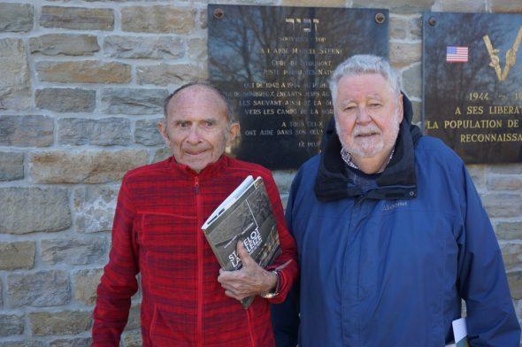 Marcel Bauer (rechts) und Jean-Pierre Dumont (Bild: Stephan Pesch/BRF)