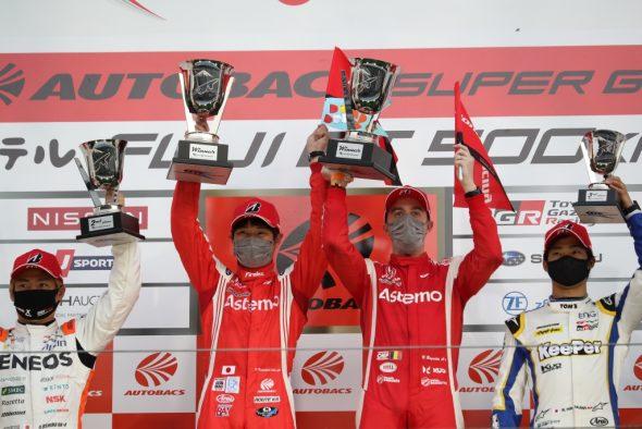 Bertrand Baguette und Koudai Tsukakoshi (Honda) gewinnen die 500 Kilometer von Fuji (Bild: Vitam Sport)
