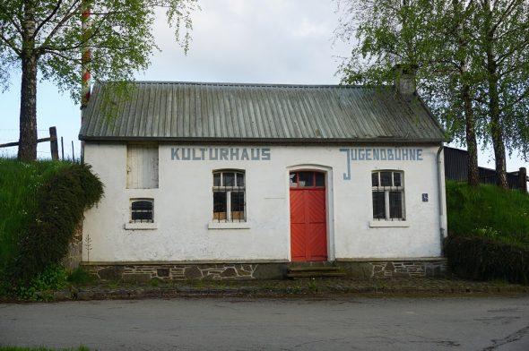 Die ehemalige Molkerei in Auel (Bild: Stephan Pesch/BRF)