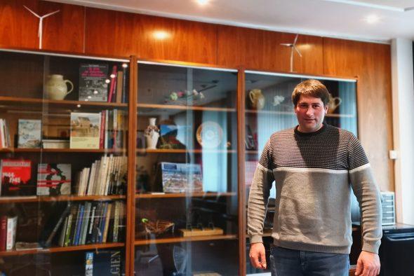 Marcel Goffinet, Schöffe für Energie in St. Vith (Bild: Raffaela Schaus/BRF)
