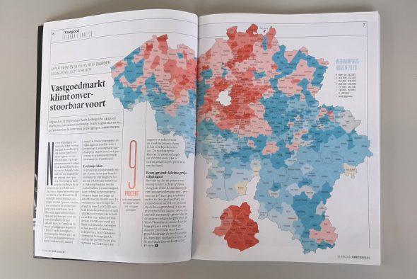 Belgien-Karte der Immobilien-Trends (Bild: Manuel Zimmermann/BRF)