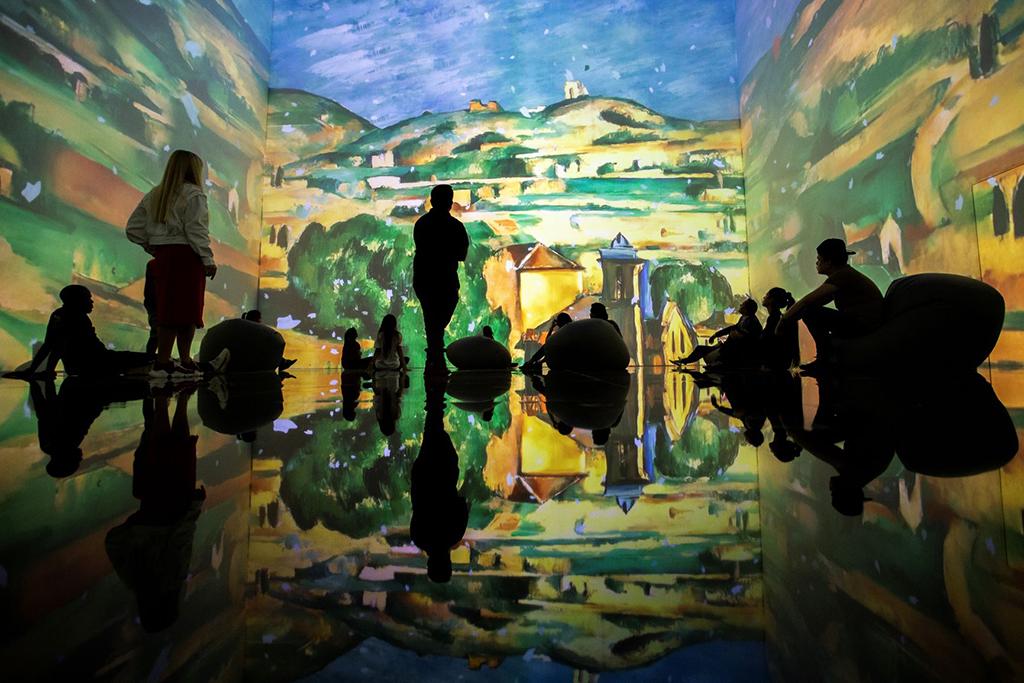 """""""Von Monet bis Kandinsky: Immersive Ausstellung im Lütticher Kongresspalast"""