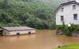 Hochwasser in Burg-Reuland (Bild: Chantal Scheuren/BRF)