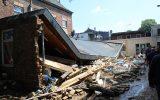 Premier Alexander De Croo besucht Eupen, um sich ein Bild von den Schäden der Unwetter-Katastrophe zu machen (Bild: Manuel Zimmermann/BRF)