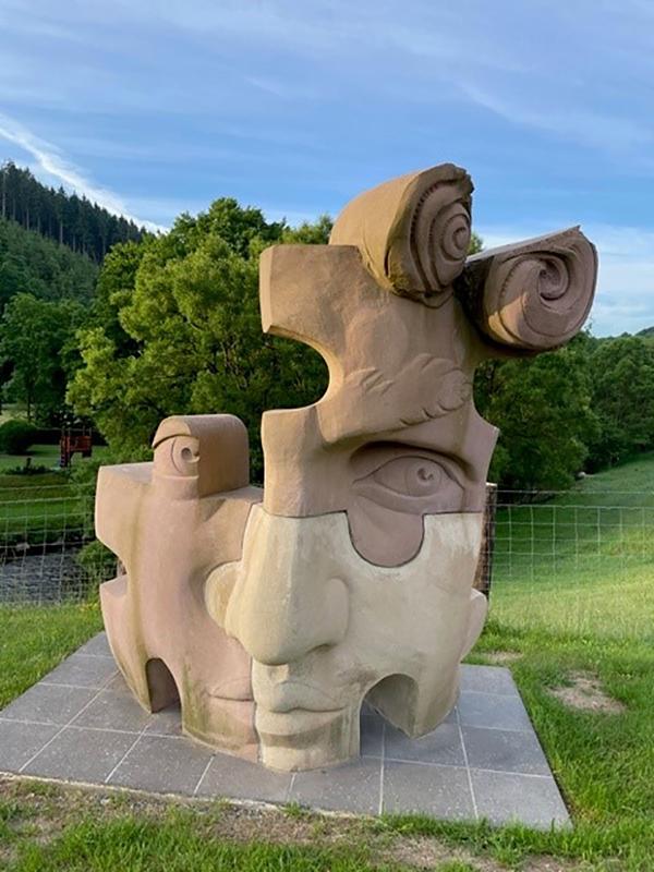 'Dreiländereck-David' von Susanne Paucker (Bild: Ostbelgien-Festival)
