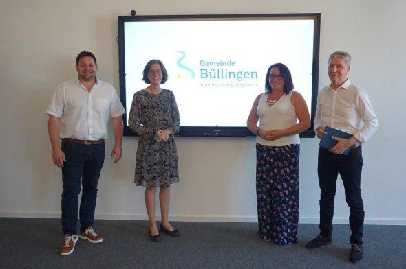 Gemeinde Büllingen stellt einen neuen Claim, ein neues Logo und eine neue Webseite vor (Bild: Stephan Pesch/BRF)