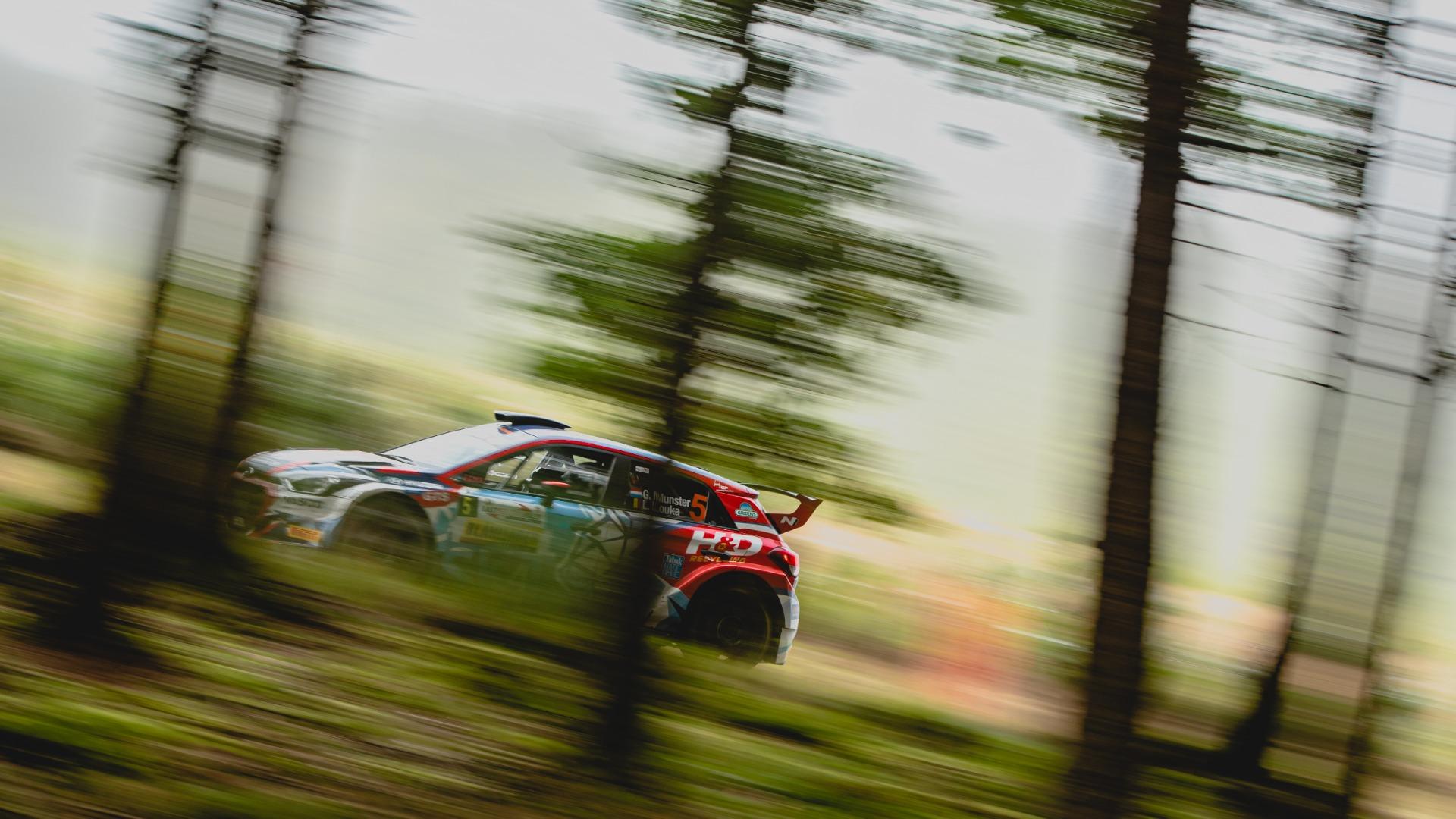 Erster Sieg für Grégoire Munster bei der East Belgian Rallye (Bild: BMA)