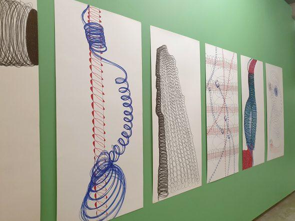 Ausstellung von Francis Feidler im Ikob (Bild: Lena Orban/BRF)
