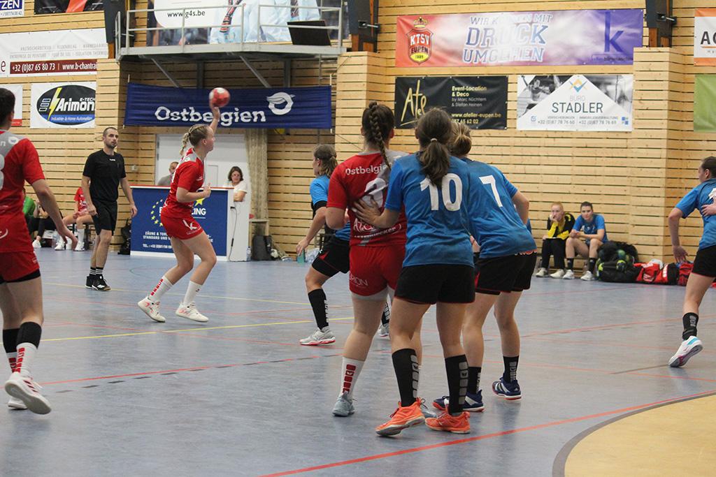 Handballderby der Damen: KTSV Eupen vs. HC Eynatten-Raeren (Bild: Christoph Heeren/BRF)
