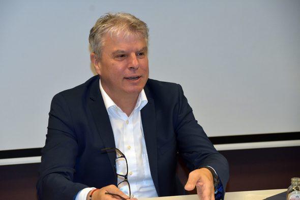Fraktionsvorsitzender im PDG, Gregor Freches (Bild: Chantal Scheuren/BR)