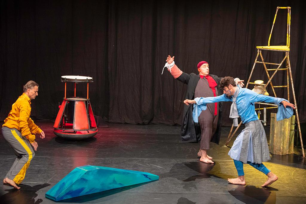 Das Geheimnis der wilden Gans - Aufführung in Huy (Bild: Carole Cuelenaere/Agora)